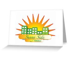 Sunny Side Estates Greeting Card