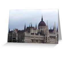 Budapest Parliament Greeting Card