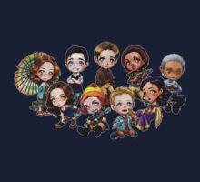 Chibi Damn Heroes One Piece - Short Sleeve