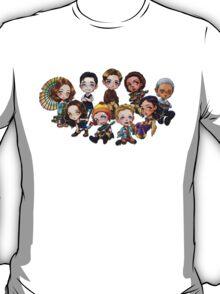 Chibi Damn Heroes T-Shirt