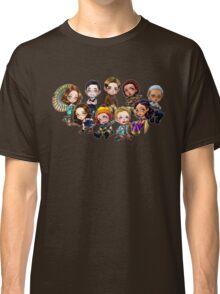 Chibi Damn Heroes Classic T-Shirt