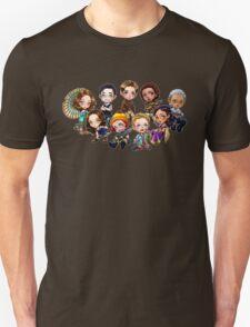 Chibi Damn Heroes Unisex T-Shirt