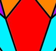 Colourful diamond 2 Sticker