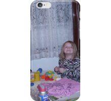 creative girls iPhone Case/Skin