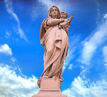 Statue of Divine Mother by Sergieiev