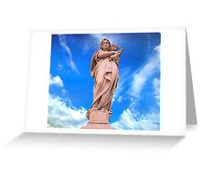 Statue of Divine Mother Greeting Card