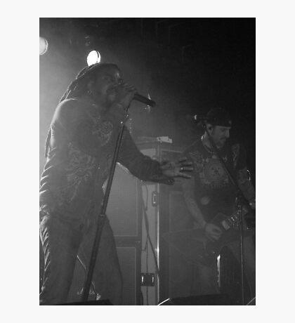 Sevendust in Black & White Photographic Print
