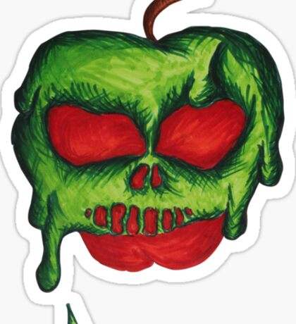 Poison Apples are the Sweetest Sticker