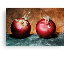 Cipolla Rossa Canvas Print