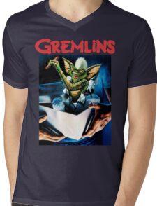 Gremlins Mens V-Neck T-Shirt