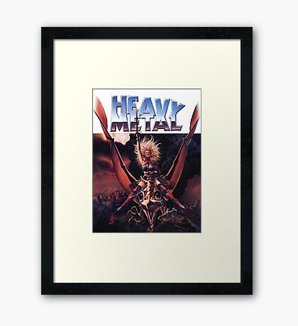 Heavy Metal Movie Framed Print