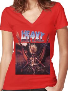 Heavy Metal Movie Women's Fitted V-Neck T-Shirt