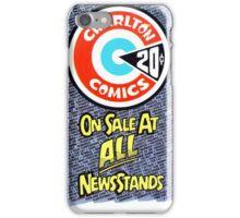 Charlton Comics ad iPhone Case/Skin