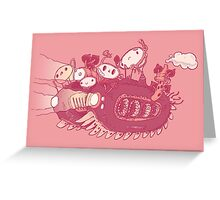Perfect Journey! Greeting Card