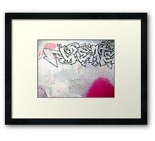 create ( pink ) Framed Print
