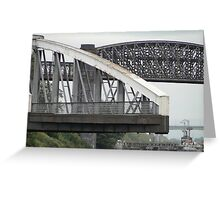 The Ship Canal Crossings Greeting Card