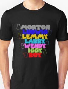 The Koopalings! Smash Bros. T-Shirt T-Shirt