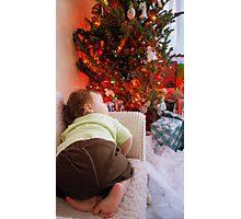 Dreaming of Santa Photographic Print