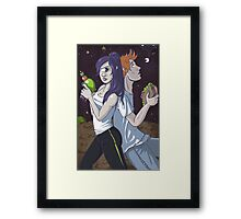 Space...it seems to go on forever Framed Print