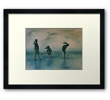 Discovery at the Beach Framed Print