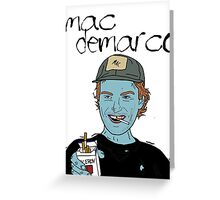 Mac Demarco // Viceroy Greeting Card