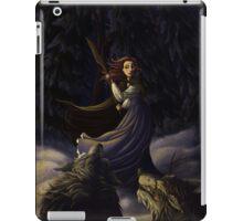 La Belle et Les Loups iPad Case/Skin
