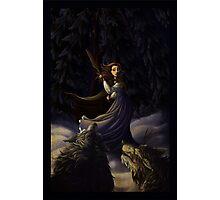 La Belle et Les Loups Photographic Print