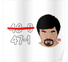 Manny Pacquiao - 47-1 Poster