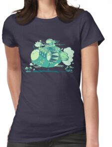 Walk with a friend Womens Fitted T-Shirt