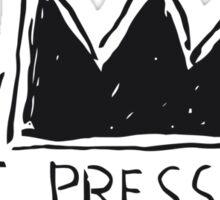Test pressing Sticker