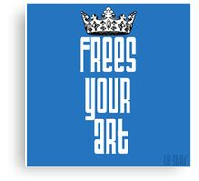 FYA - Frees Your Art #1 Canvas Print