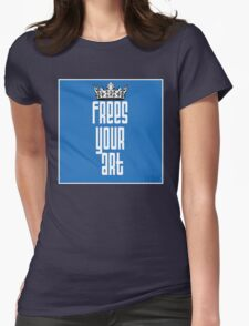 FYA - Frees Your Art #1 Womens Fitted T-Shirt