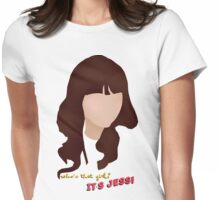 Who's that girl? It's Jess! Womens Fitted T-Shirt