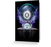 Ultimate Pi Day 3.14.15 Universal Enigma Greeting Card