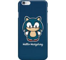 Hello Hedgehog iPhone Case/Skin