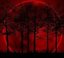 Blood Moon Rising by Melissa Harris