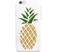Pineapple (one) iPhone Case/Skin