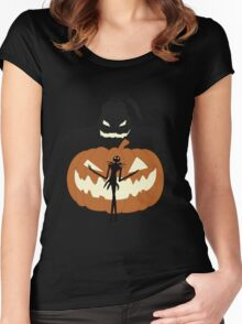 The Pumpkin King! Women's Fitted Scoop T-Shirt