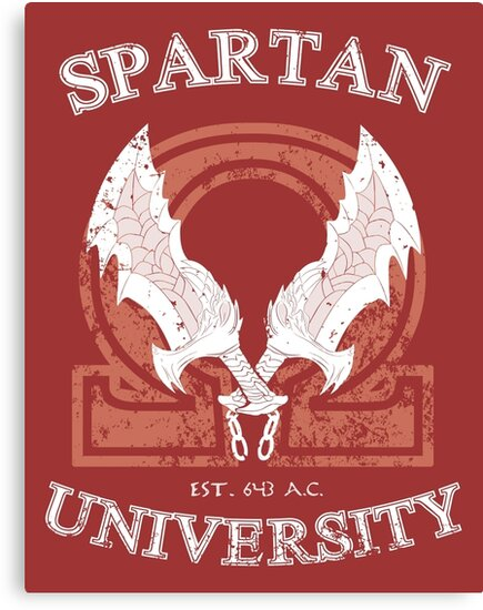 Spartan University (God of War) by Ruwah