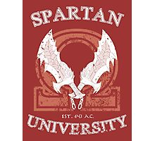 Spartan University Photographic Print