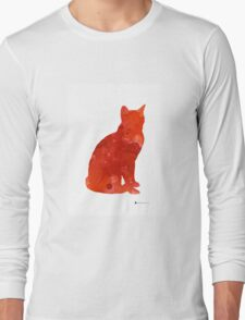 Thai cat wall decor for sale Long Sleeve T-Shirt