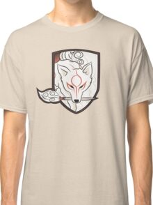 God Hound (without writing) Okami Classic T-Shirt