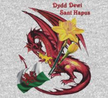 Dydd Dewi Sant Hapus Kids Clothes