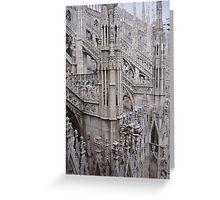 The Duomo Milan Italy Greeting Card