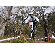 Kiwi Rider Photographic Print