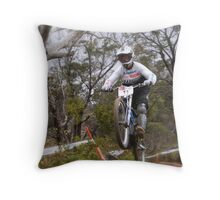 Kiwi Rider Throw Pillow