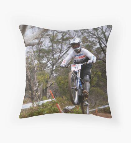 Kiwi Rider Throw Pillow