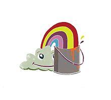 Cloud. Rainbow. Tin. by kidspaceorig