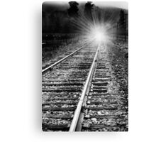 Travel by night Canvas Print