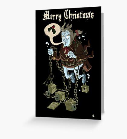 Jacob Marley... Greeting Card